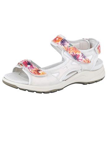 Sandaletit Ara valkoinen/kukallinen30413/70X
