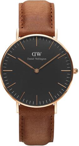 Daniel Wellington Classic Black Durham 36mm DW00100138