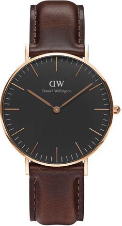 Daniel Wellington Classic Black Bristol 36mm DW00100137