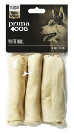 Prima Dog Valkoinen Pururulla, 3 kpl
