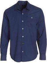 Volcom Everett Solid Shirt LS navy / sininen Miehet