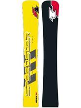 F2 Speedster RS Equipe 169 2017 Vuoristolumilauta uni / keltainen Miehet