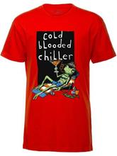 Volcom Frog Life Basic T-Shirt Boys why rock red / punainen Jätkät