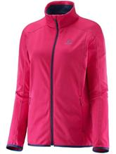 Salomon Discovery Fleece Jacket gaura pink / pinkki Naiset