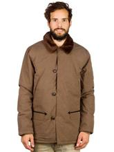 Volcom Djangogringo Jacket mushroom / ruskea Miehet