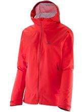 Salomon Nebula Stretch 2.5L Outdoor Jacket infrared / punainen Naiset