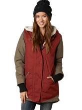 Fox Magnitude Coat heather rust / punainen Naiset