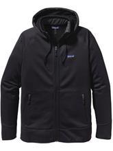 Patagonia Tech Hooded Fleece Jacket black w / black / musta Miehet
