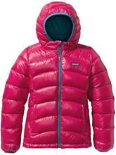 Patagonia Hi-Loft Hooded Down Takki tytöille magic pink / pinkki Tytöt