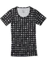 Burton Lightweight Scoop Tekninen paita illuminati / kuvioitu Naiset