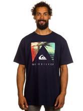 Quiksilver Vanishing Point T-paita navy blazer / sininen Miehet