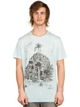 Volcom Visible Muerta Lightweight T-Shirt dry vintage / valkoinen Miehet