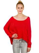 Volcom Tipsy Pullover red / punainen Naiset