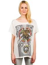 Volcom Simply Stoned T-Shirt cream / ruskea Naiset