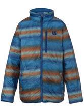 Burton Flex Puffy Poikien takki boro / glacier beach stripe / sininen Jätkät