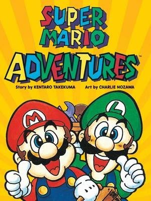 Super Mario Adventures (Kentaro Takemura), kirja