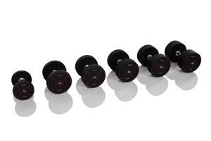 Gymstick Pro PU Dumbbells, käsipainot 2 x 32,5 kg