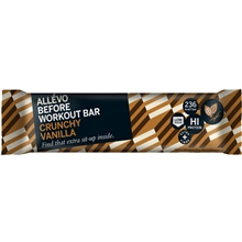 Allevo Before Workout Bar Crunchy-Vanilla