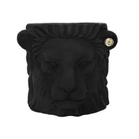 Garden Glory Lion ruukku musta