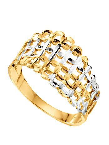 Naisten sormus kaksivärinen55911/20X
