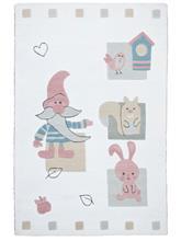 Lasten matto Theko®die Markenteppiche Valkoinen56188/60X