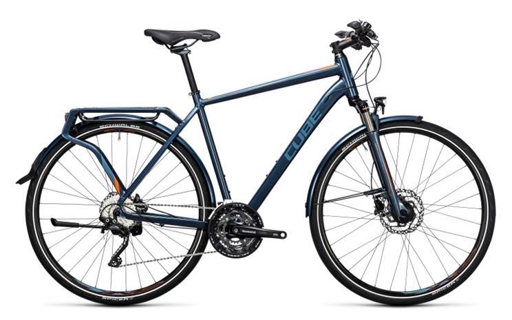 Cube Delhi Pro Miehet pyörä , sininen