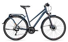 Cube Delhi Pro Naiset pyörä Trapez , sininen