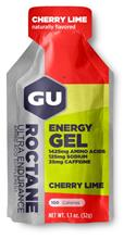 GU Energy Roctane urheiluravinne Cherry Lime 32g , punainen/hope