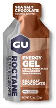GU Energy Roctane urheiluravinne Sea Salt Chocolate 32g , beige/