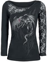 Spiral - Dragon's Cry - Naisten pitkähihainen paita