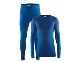 CRAFT SEAMLESS ZONE 2-PACK underwear set deep M