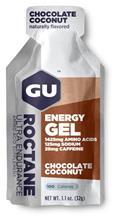 GU Energy Roctane urheiluravinne Chocolate Coconut 32g , ruskea/