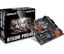 Asrock B150M Pro4V, emolevy