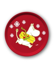 Muumi Christmas Moomin pyöreä tarjotin