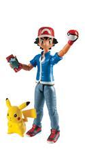 Pokémon, toimintahahmot Ash ja Pikachu