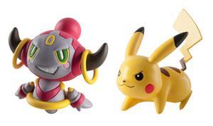 Pokémon, toimintahahmot Pikachu vs Hoopa