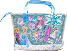 Disney Frozen Royal Winter Beauty, meikki- ja kynsilakkasetti laukussa