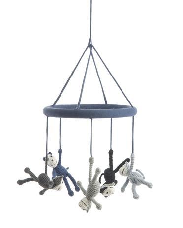 Smallstuff Mobile Apinat, Sininen