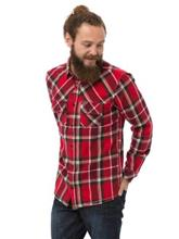 Animal Westy Shirt LS rich red / punainen Miehet