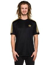adidas Skateboarding Clima Club Jersey T-paita black / gold met / musta Miehet