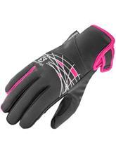 Salomon Thermo Gloves black / yarrow pink / musta Naiset