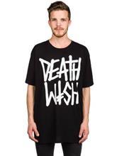 Deathwish Death Stack T-paita black / white / musta Miehet