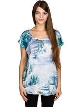 Love Slopestyle T-paita allover / kuvioitu Naiset