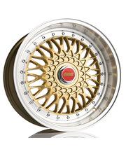 885 Classic RS Gold 7.5x17 Jako:5x100 ET:35 vanne