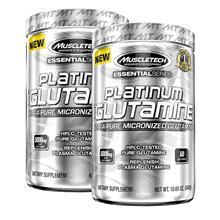 2 x 100% Platinum Glutamine, 302 g