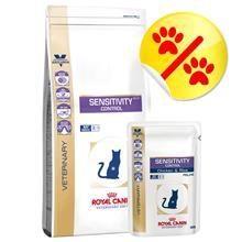 Yhteispakkaus: Royal Canin Veterinary Diet - Sensitivity Control - pieni paketti