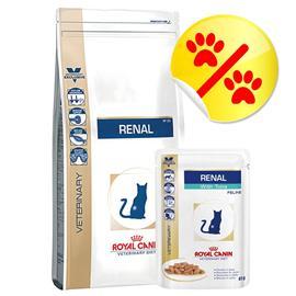 Yhteispakkaus: Royal Canin Veterinary Diet - Renal - pieni paketti