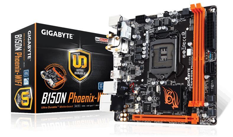 Gigabyte GA-B150N Phoenix-Wifi, emolevy