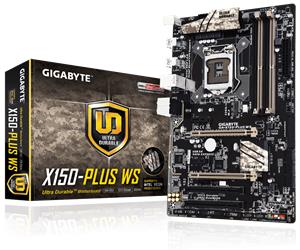 Gigabyte GA-X150-PLUS WS, emolevy