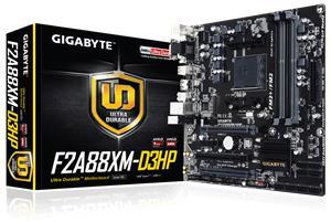 Gigabyte GA-F2A88XM-D3HP, emolevy